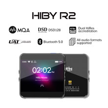 HiBy R2 MP3 Network Streaming Music Player HiRes Lossless Digital Audio Tidal MQA 5Gwifi LDAC DSD web radio Bluetooth 5.0