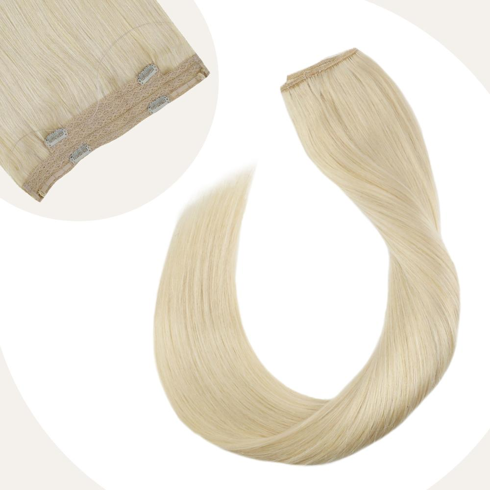 Ugeat Flip In Hair Extensions Hidden Wire Hair 12-22