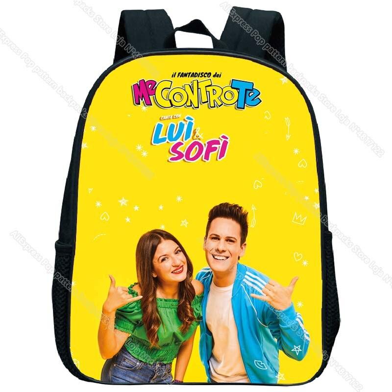 mochila da criança dos desenhos animados mini
