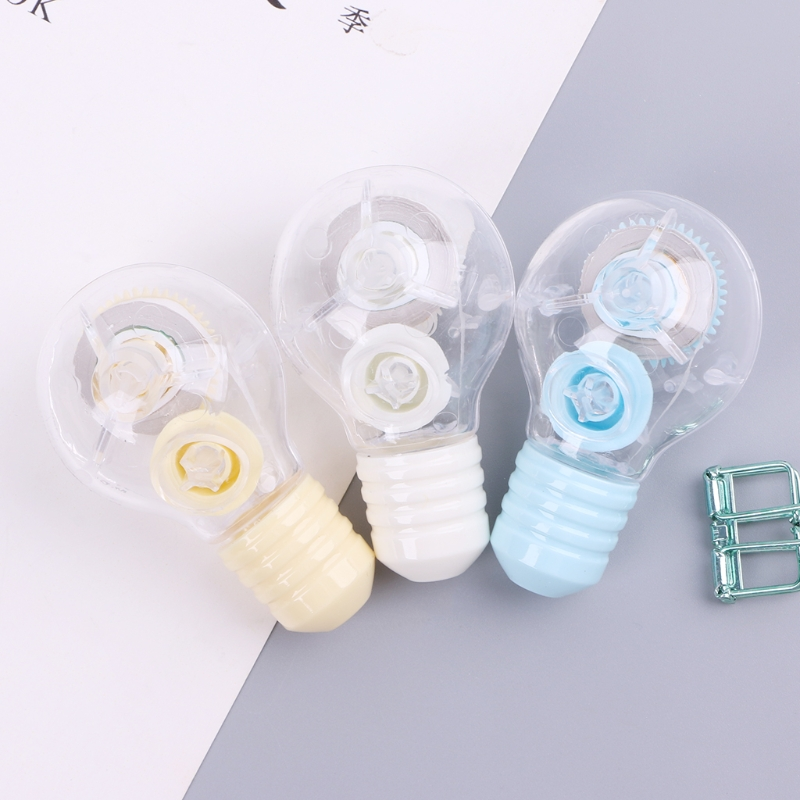 5m Transparent Cute White Correction Tape Stationery Office School Supplies