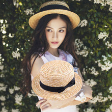 Foldable Cap Straw-Hats Sunhat Wide-Brim Women Summer Travel Girls Beach New And Outdoor