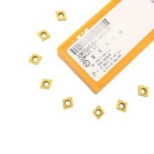 10 шт. CCMT060204 CCMT21.51 UE6020 внешние токарные инструменты твердосплавные вставки токарный резак токарный инструмент токарные вставки