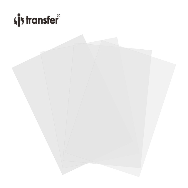 No Weeding DTF Transfer Film Dark Color  T shirts Textiles Printing Paper A4 100 Sheets/Pack DTF Films 4