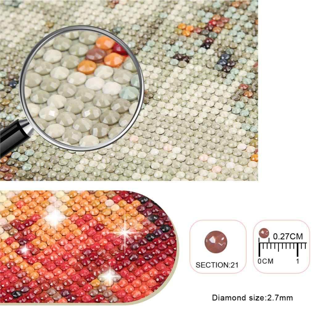 Carré/rond perceuse Photo personnalisé diamant peinture point de croix pleine image bricolage mosaïque cadeau diamant broderie décoration de la maison