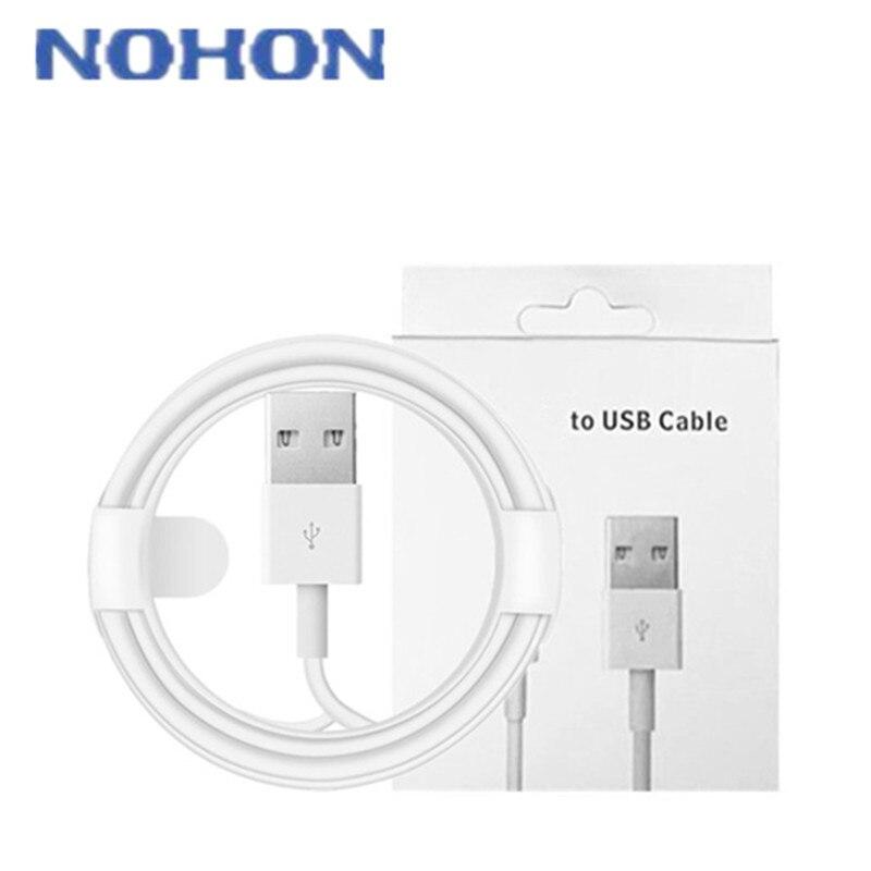 Высококачественное зарядное устройство для apple iphone X, XS Max, XR, 5, 5S, 5C, SE, 6, 6S, 7, 8 Plus, 1 м, 2 метра, длинный кабель для зарядки, провод для зарядки