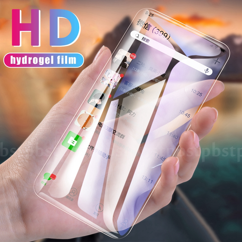 9D Hydrogel Soft Film For Samsung Galaxy A40 A20 A10 Note 10 Pro Plus A50 A70 A30 Screen Protector Films For Samsung A50 A70 A30