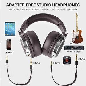 Image 2 - Oneodio katlanabilir aşırı kulak kablolu kulaklık telefon bilgisayar profesyonel stüdyo Pro monitörler müzik DJ kulaklık oyun kulaklık