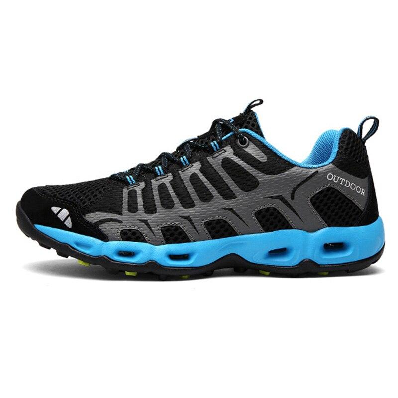2018 прямые продажи Новые Escalada альпинистские мужские уличные кроссовки дышащие треккинговые ботинки сандалии большого размера треккинговые