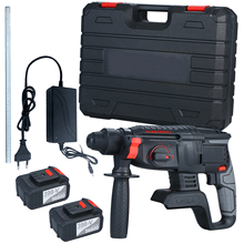 Grip-Handle Hammer Drill Power-Tools Brushless Battery Heavy-Duty Punch 21V with 980