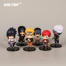 Naruto Ninja Hands Doll Car Accessories for Girls Ornaments Dashboard Decoration Interior Pendant Hanging Sasuke Kakashi