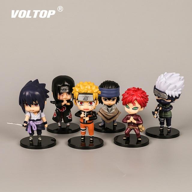 Naruto Ninja Hands Doll Car Accessories for Girls Ornaments Dashboard Decoration Interior Pendant Hanging Sasuke Kakashi
