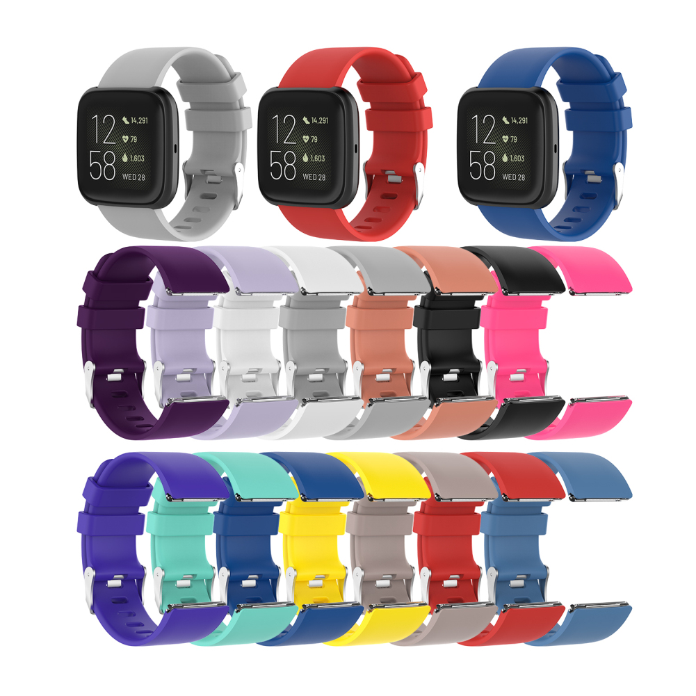New Fit Fitbit Versa 2 Smart Watch Replacement Waterproof Wristband 2 Generation Official Same Silicone Strap