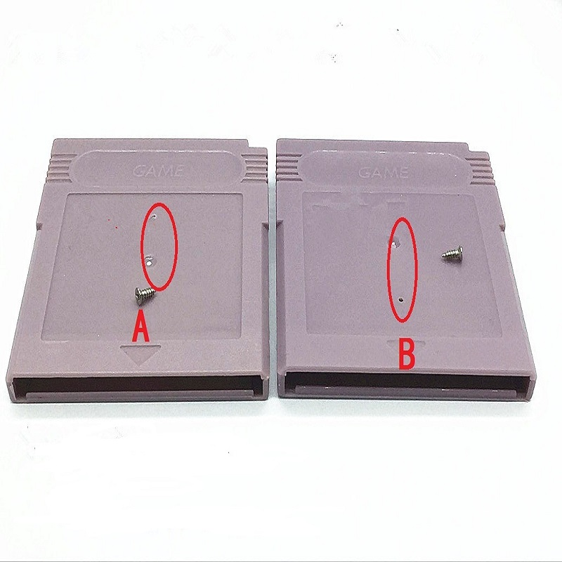 1PCS Clear Grey Replacement for GBA SP W/ Screw Game Cartridge Housing Shell for <font><b>GB</b></font> GBA GBC GBP Game Card <font><b>Case</b></font> image