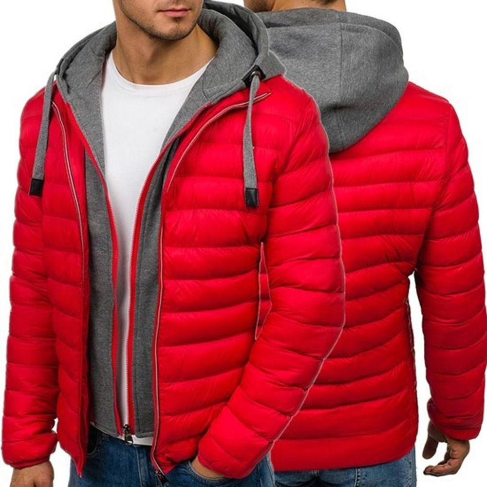 Zogaa Brand Winter Men Jacket 2018 Casual Mens Jackets And Coats Thick Parka Men Outerwear Plus Size S-3XL Men clothing 2018