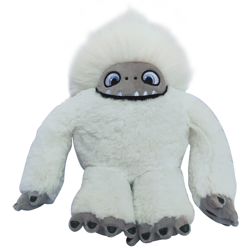 23cm Movie Yeti Abominable Snowman Plush Toy DolI Abominable  Soft Stuffed Animals Toys Doll For Kids Children Christmas Gifts