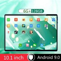 2020 nowy tablet 10.1 cala full Netcom 4G telefon komórkowy dwa w jednym podyplomowe biuro gra 6G + 128GB nadaje się do nauki studentów