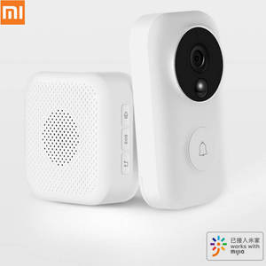 Xiaomi Video-Deurbel-Set Intercom 720P Ai-Gezicht Mijia/zero Gratis Sms Cloud Identificatie
