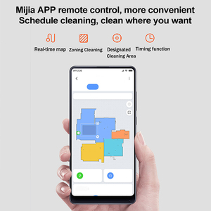 Image 5 - Newest Xiaomi Pro Stytj02YM Mijia Mi Robot Vacuum Mop Sweep Cleaner2 LDS APP Control Mi Home 2100pa dry wet cleaning home device