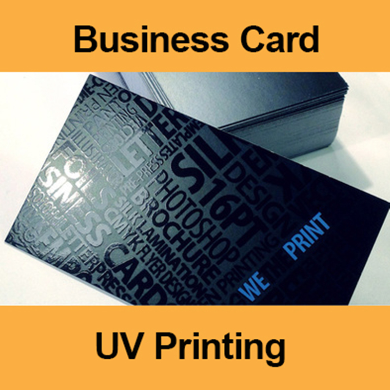200Pcs UV Printing Business Card ID Cards Design Calling Round/Square Corner 300gsm Paper Cards Custom Print 85.5*54mm
