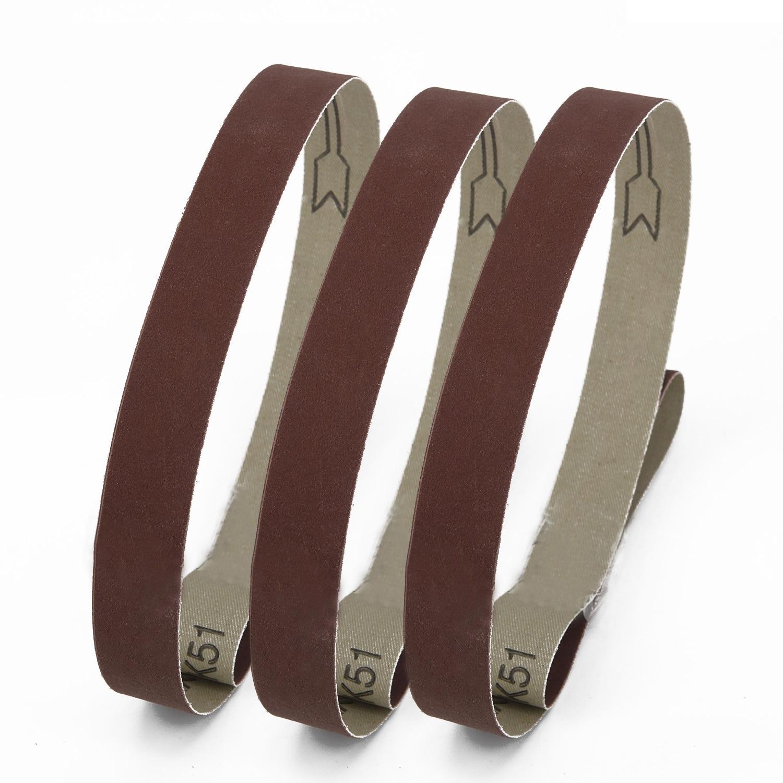 Sanding Belts 600 800 1000 Grit 15pcs 25mm X 762mm Sanders Aluminum Oxide