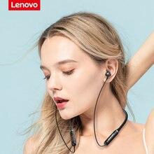 Original Lenovo HE05 Bluetooth 5.0 Neckband Wireless headphones Stereo Sports Magnetic