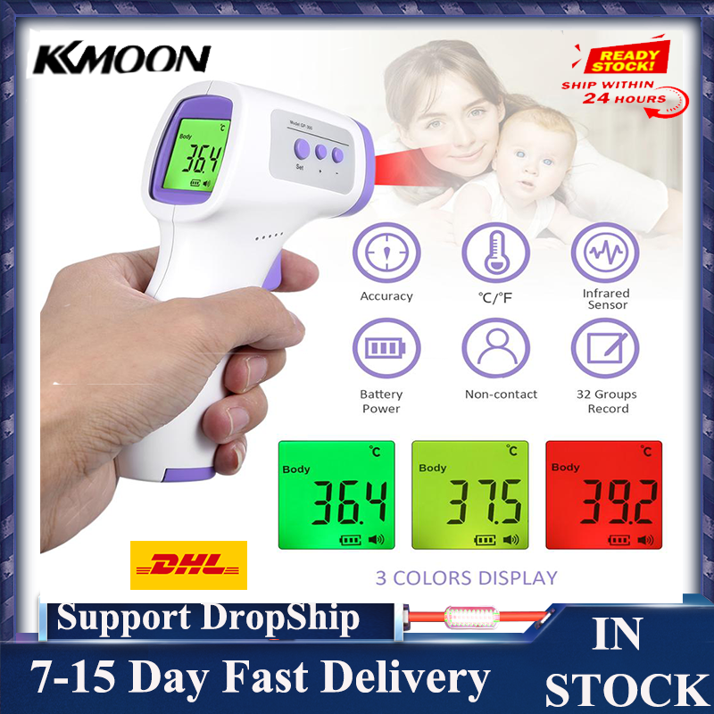 IR Temperature Digital Infrared Termomete 1 second Accurate Reading IR Infrared Termomete Measurement LCD Digital for Baby Adult|Temperature Instruments|   - AliExpress