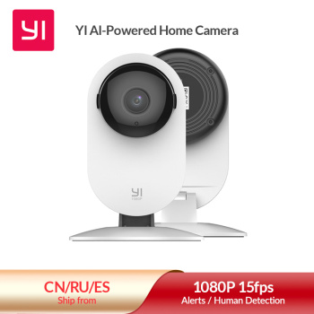 YI Home 1080p Camera AI+ Smart Human detection Night vision Activity alerts for home Video pets baby monitor Cloud and Micro SD 1