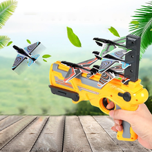 2021 New Catapult Aircraft Gun Toys for Kids 2 To 4 Years Old Kids Toys Boys Mini Toys Diecast Airplane Toys Outdoor Sport Toys