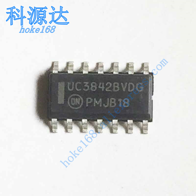 10pcs/lot UC3842BVDG UC3842BVDR2G SOP14 UC3842BV UC3842B UC3842BDG  In Stock