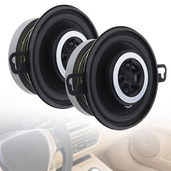 цена на 2pcs 3.5 Inch 12V 200W Car Horn Coaxial Speaker Full Frequency Loundspeaker Car Audio Music Player for Car Vehicle Automobiles