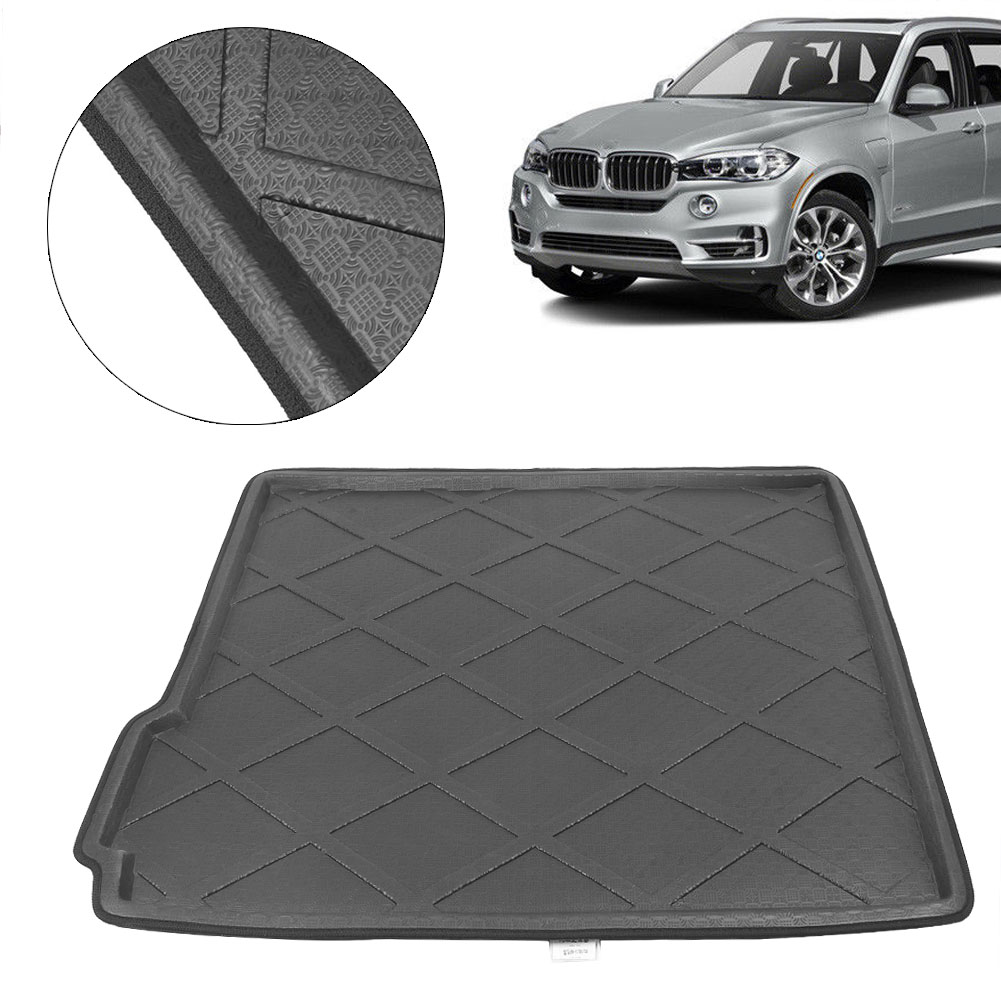For BMW X5 Rear Boot Mat Trunk Cargo Liner Tray Carpet Cover 2009 2010 2011 2012 2013 2014 2015 2016 2017