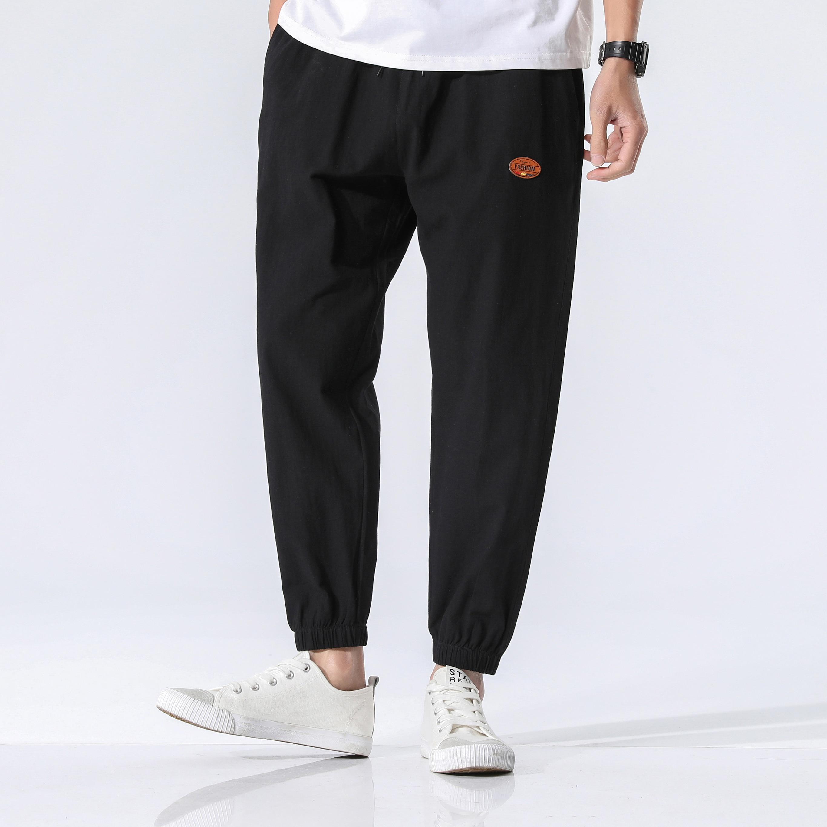 מכנסיים גברים אופנתיים בסגנון משוחרר 4