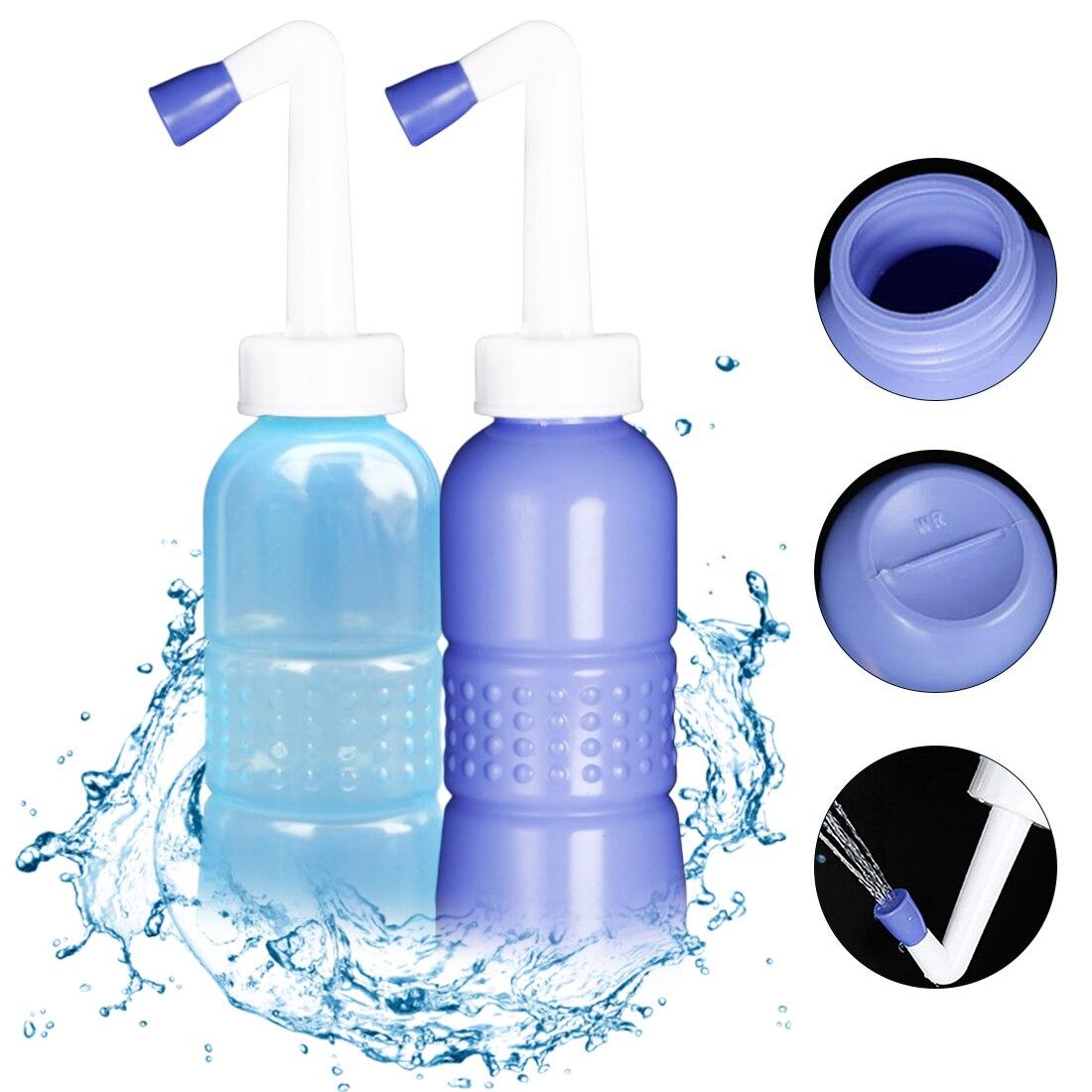 EVA Portable Sprayer 420ml/450ml/650ml  Hand Held Travel Bidet Toilet Seat Tackle  Bidet Bottle Washing Toilet Personal Cleaner
