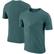 Новинка, недорогая Мужская теннисная рубашка, темно-синяя мужская рубашка