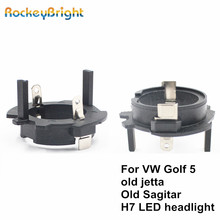 H7 Led Headlamp H7-Adapter Sagitar Volkswagen Golf-5 Bulb-Holder Socket-H7 Rockeybright