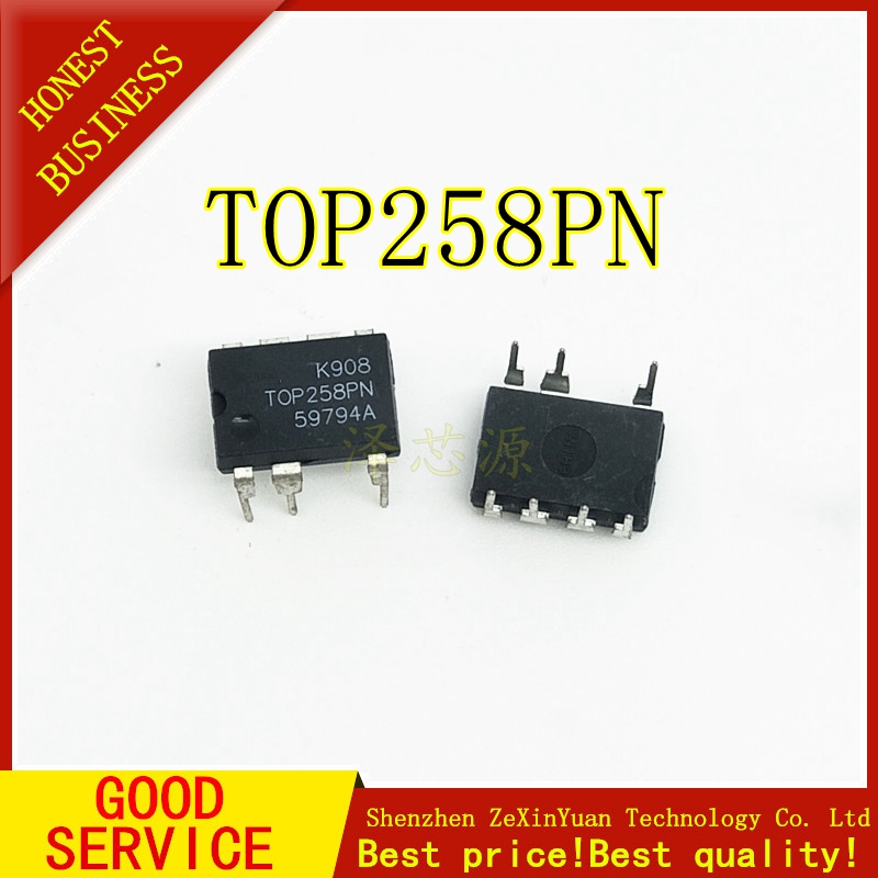 5PCS/LOT TOP258PN TOP258EN DIP-7 Integrated Off-Line Switcher IC
