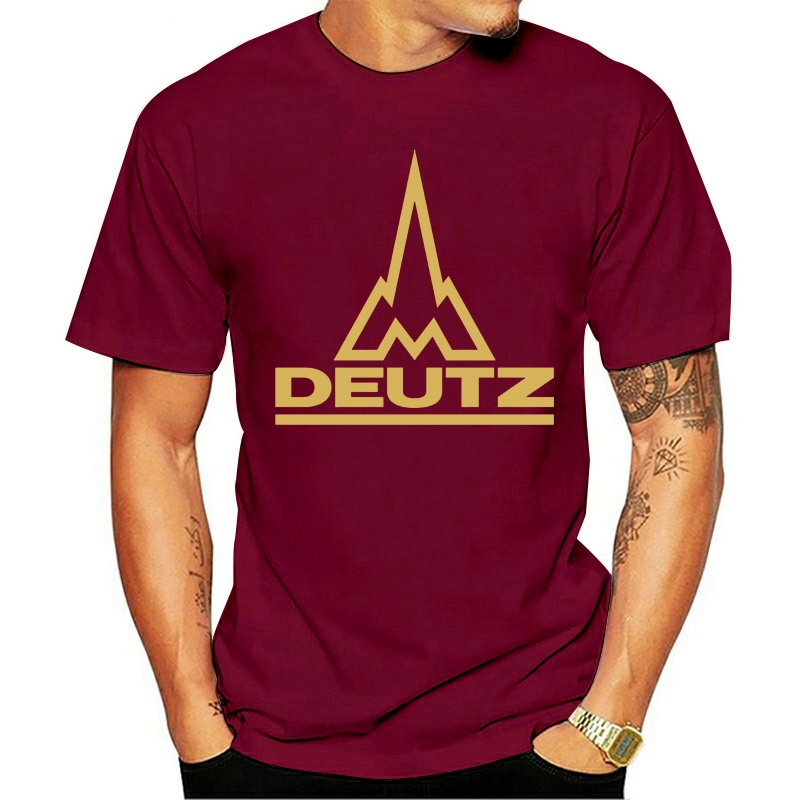 Deutz tão legal masculino eua camisa tamanho s a 5xl 2021 lazer moda camiseta 100% algodão