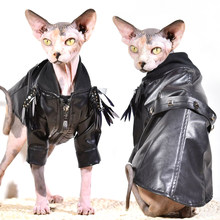 Cat Hoodie Hairless Sphinx Cat Pet Dog Cat Clothing Ropa Para Gato Sweatshirt Cat Clothes for Cats Sweater Cat Cat Costume(China)