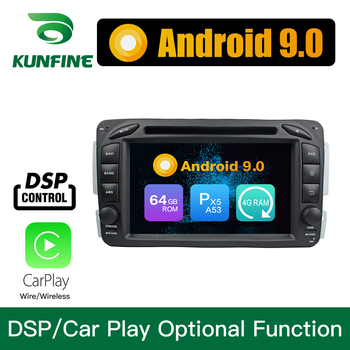 Android 9.0 Octa Core 4GB RAM 64GB Rom Car DVD GPS Multimedia Player Car Stereo for BENZ C-Class W203 2000-04 Radio Headunit