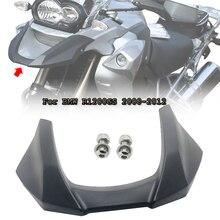 Cubierta extensora de rueda de carenado frontal para motocicleta BMW, cubierta extensora de color negro para moto BMW R 1200 GS 1200GS 2008 2009 2010 2011 2012