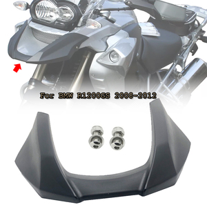 R1200GS Front Beak Fairing Extension Wheel Extender Cover Black For BMW R 1200 GS 1200GS 2008 2009 2010 2011 2012 Motorcycle