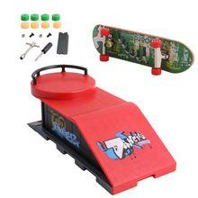 Skate Park Ramp Parts for Tech Deck Fingerboard Finger Board Ultimate Parks New Y4QA