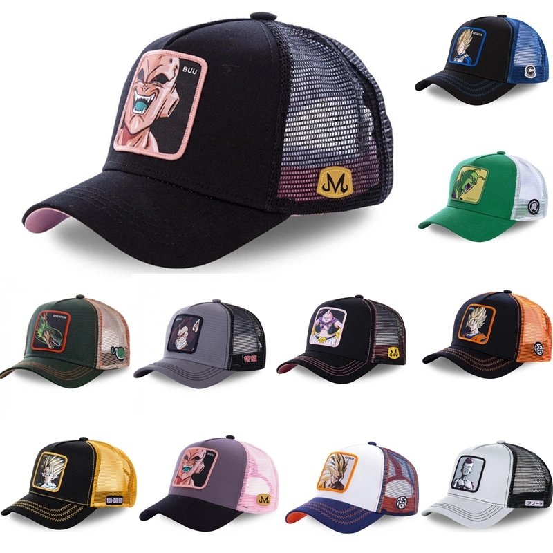 New Brand DRAGON BALL NARUTO All Styles Snapback  Cotton Baseball Cap Men Women Hip Hop Dad Mesh Hat Trucker Hat Dropshipping
