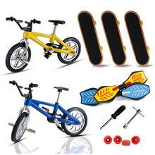 Bike-Toys Finger-Bmx-Set Kids Bicycle Boys Mini Alloy for Gift Functional
