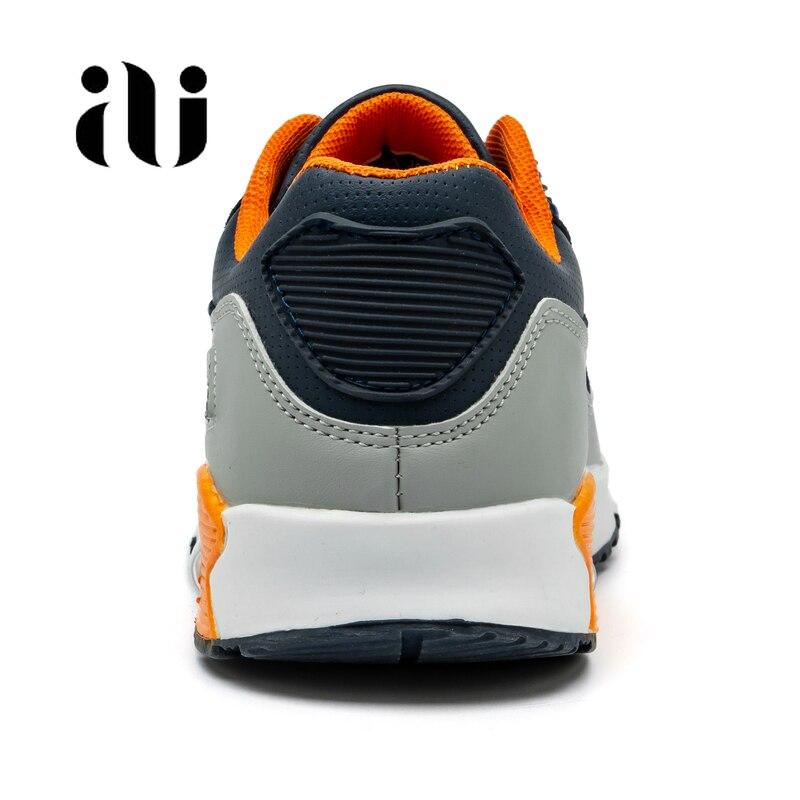 Image 4 - Новые детские повседневная обувь из кожи; обувь для бега для девочек кроссовки на воздушной подушке демпфирования мальчиков кроссовки, мягкая подошва; детская спортивная обувь-in Кроссовки from Мать и ребенок