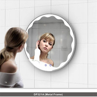 LED Strip Vanity Lights Mirror Light Makeup Bathroom Mirror Led Light Round High Quanlity with Anti fog Function Mirror Wall Led