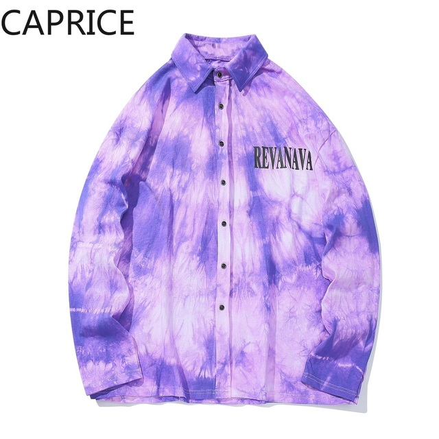Hip Hop Letter Printed Mens Shirt 2019 Harajuku Fashion Streetwear Casual Cotton Oversized Male Long Sleeve Outwear