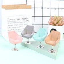 1:6 escala em miniatura conjunto de móveis reunindo sofá poltrona reunindo sofá cadeira para o brinquedo do miúdo