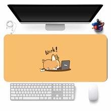 Gamer Keyboard Desk-Mat Mouse-Pad Comtuper Large Kawaii Gaming Laptop Accessoroes Cute
