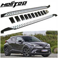 New arrival running board side step nerf bar for Toyota CHR C-HR 2018 2019 2020,excellent aluminum alloy,special price promotion